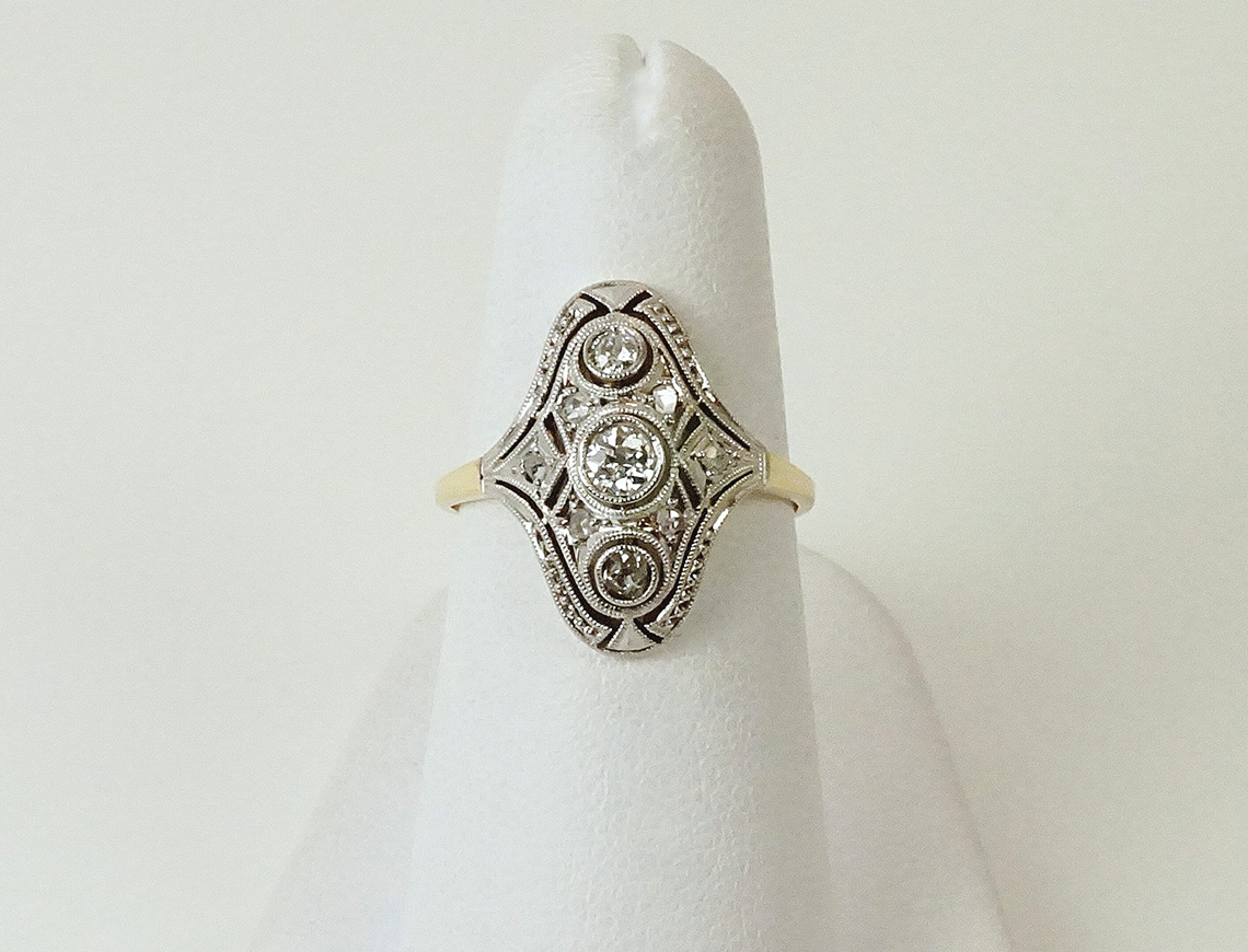 Sweet Edwardian ring