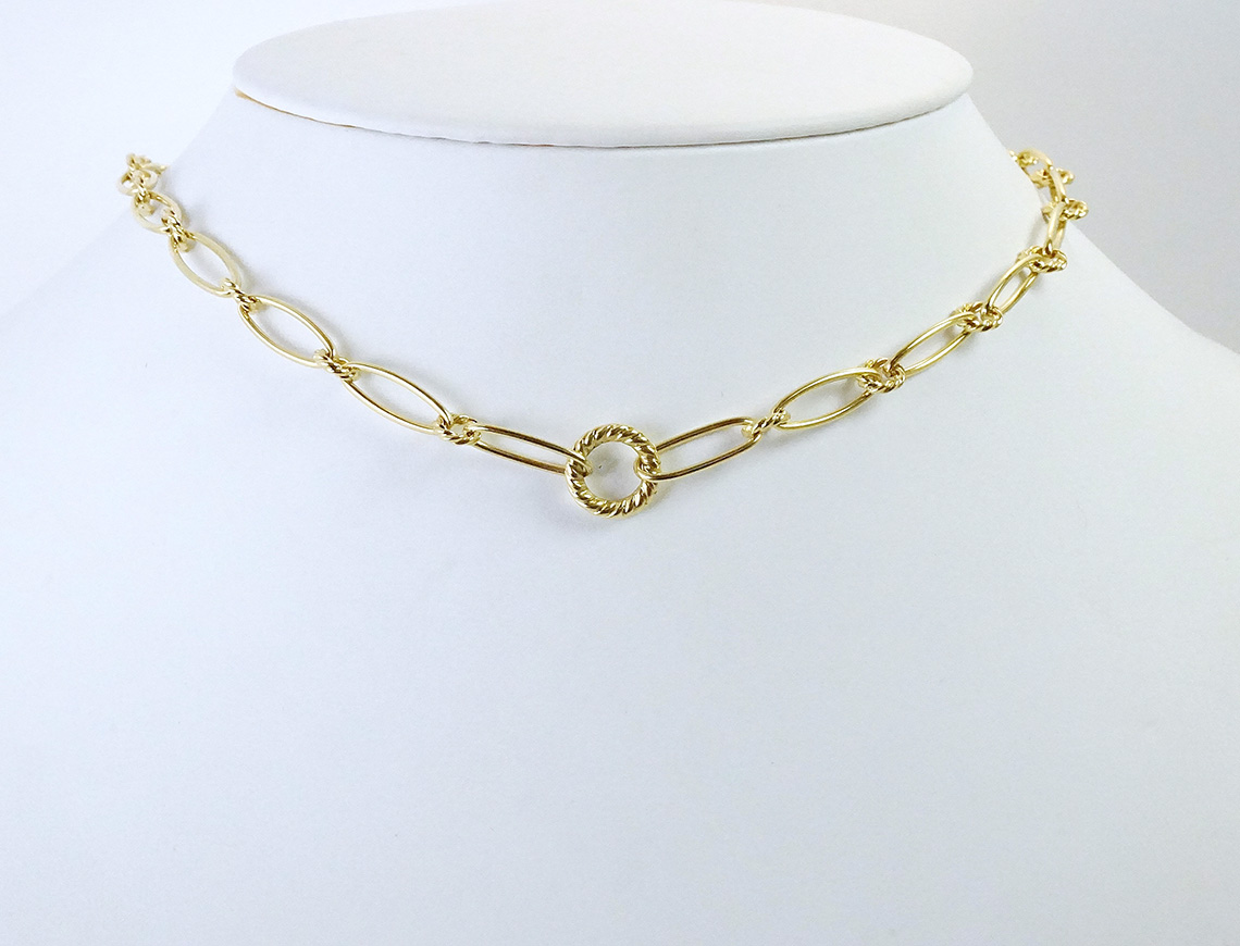 18K necklace by David Yurman