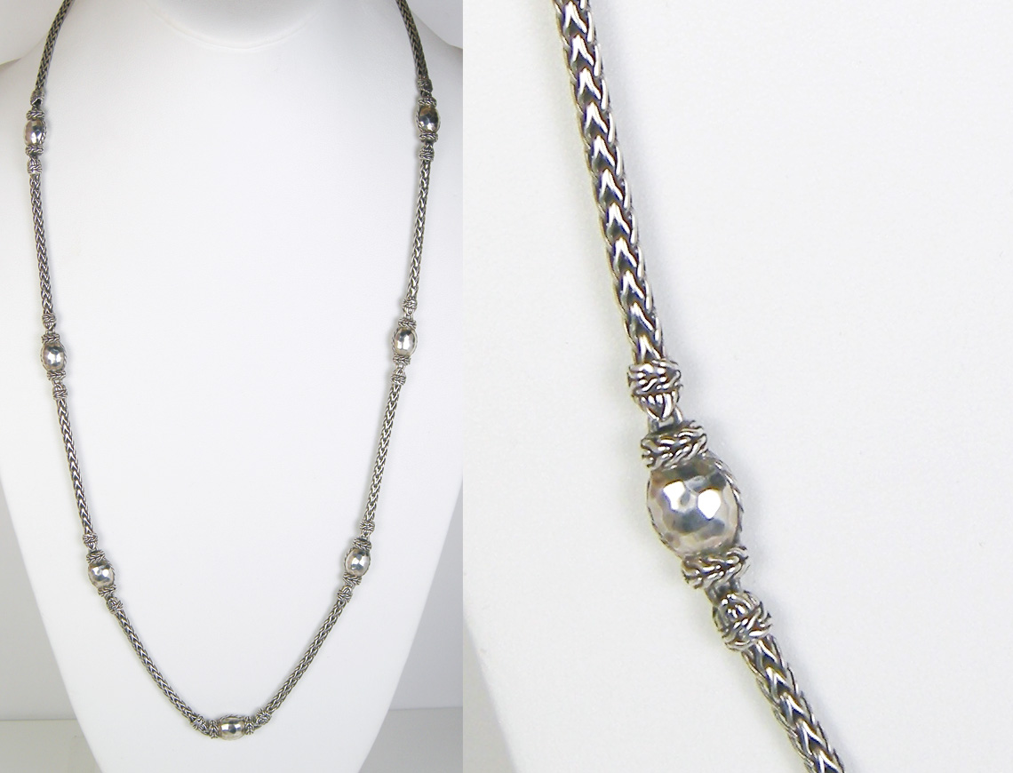 Long necklace by John Hardy