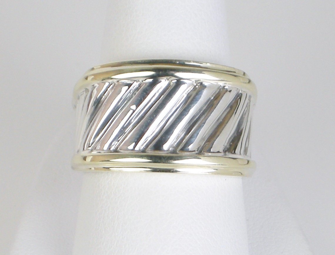 David Yurman band ring