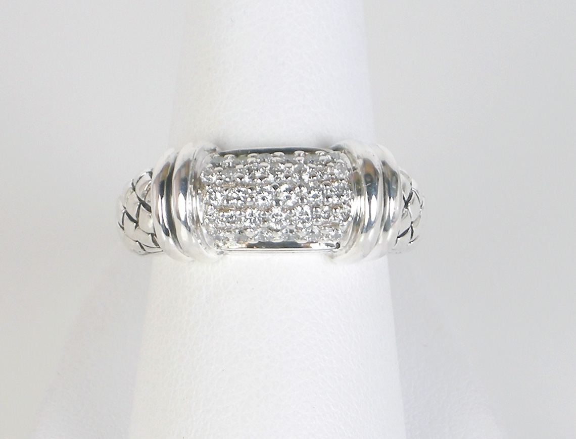 Pave ring by Scott Kay