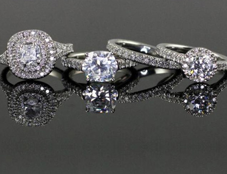 Custom Personalized Engagement Rings